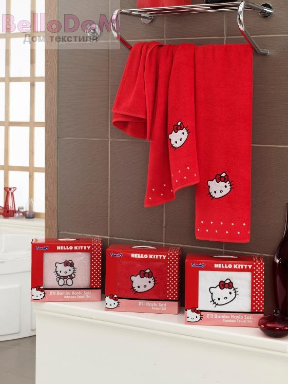 картинка Комплект полотенец Hello Kitty Bamboo